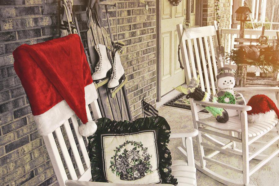 Holiday Porch Photograph