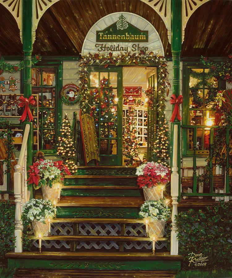 Holiday Treasured Painting - Holiday Treasured by Doug Kreuger