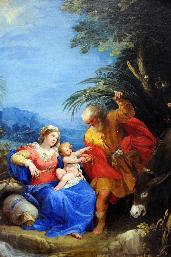 Jesus Photograph - Holy Family by Munir Alawi