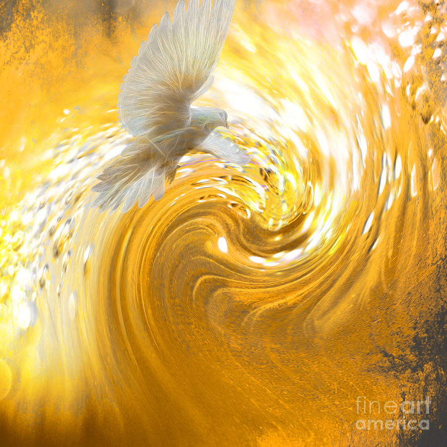 Holy Spirit Come Digital Art By Beverly Guilliams