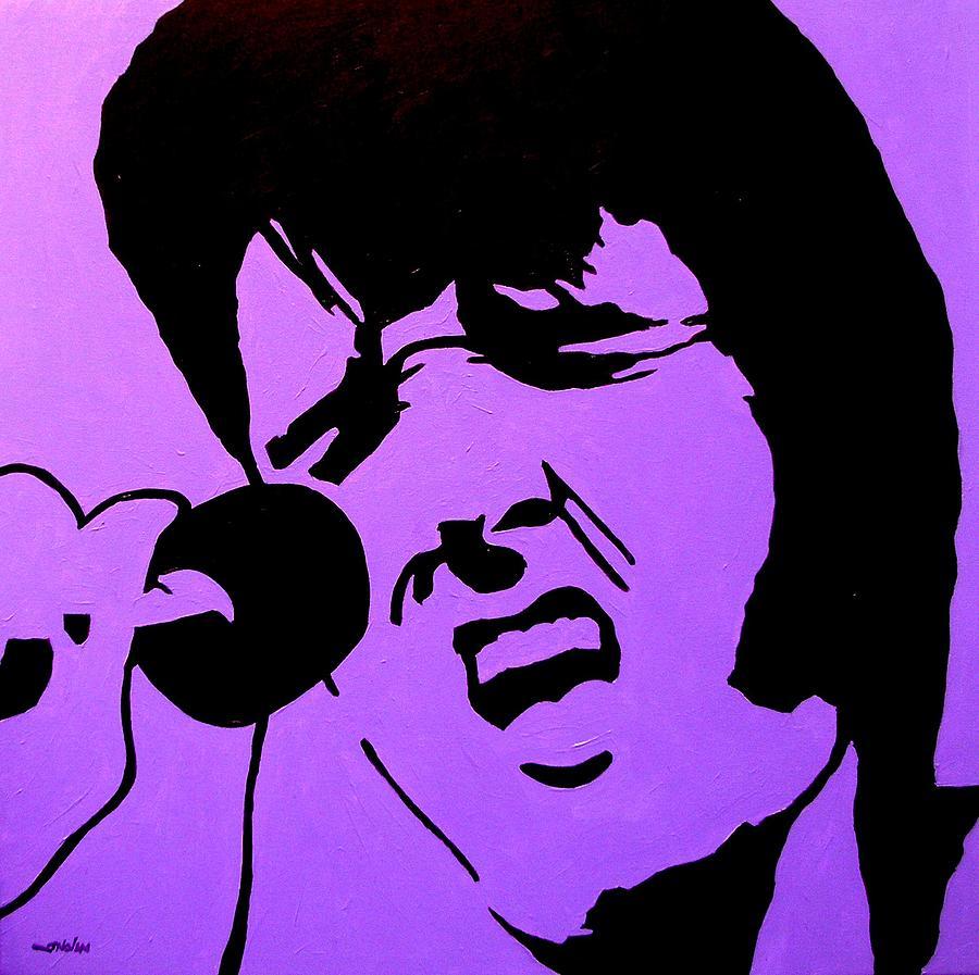Homage To Elvis Painting