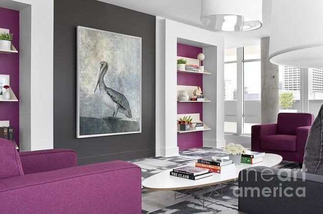 Home Decor Brown Pelican B W By Darrell Hutto
