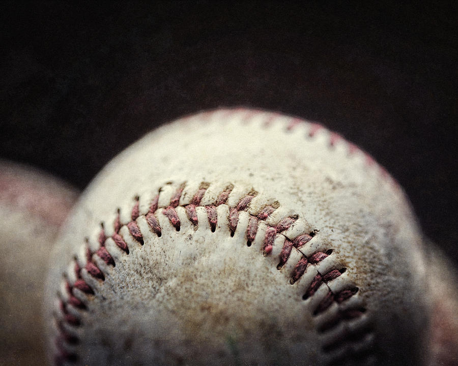 Sports Photograph - Home Run Ball by Lisa Russo
