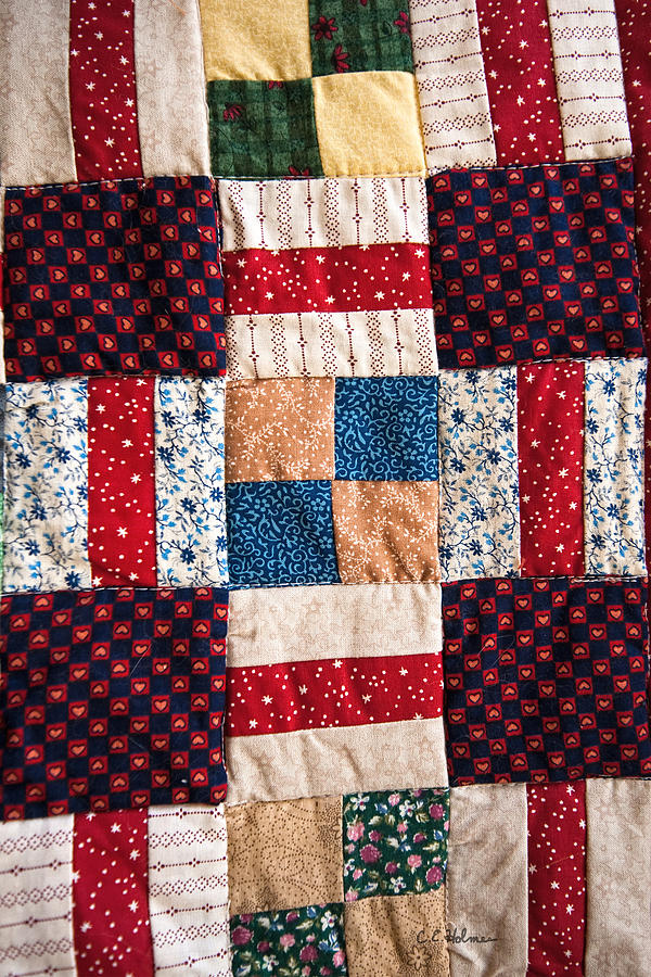 Quilt Photograph - Homemade Quilt by Christopher Holmes