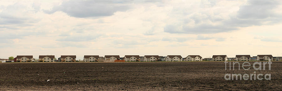 Brown Photograph - Homes On The Prairie by Steve Augustin