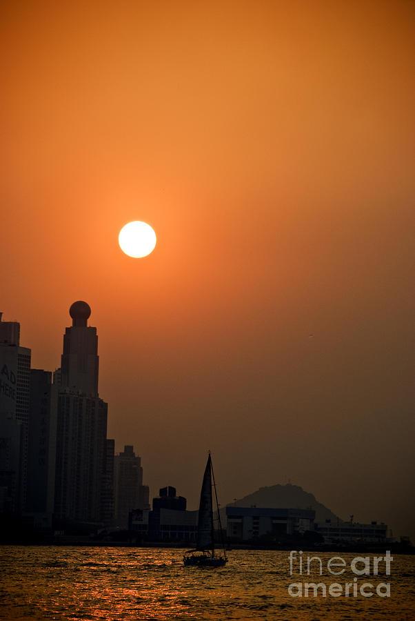 Hong Kong Coast Photograph