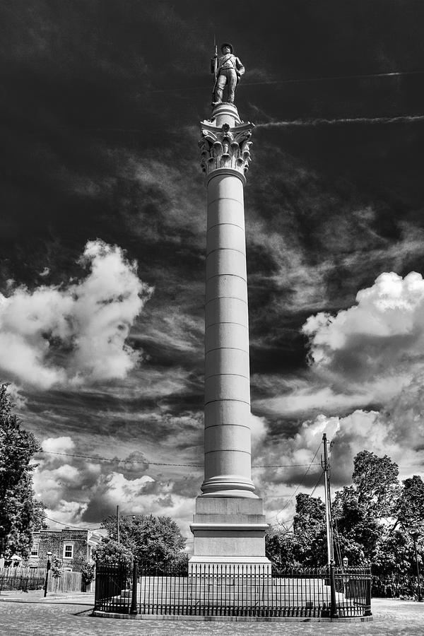Confederate Solider Photograph - Honoring The Fallen by Tim Wilson
