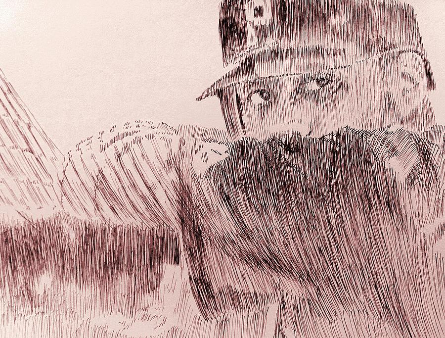 Pittsburgh Drawing - Hope Springs Eternal by Robbi  Musser
