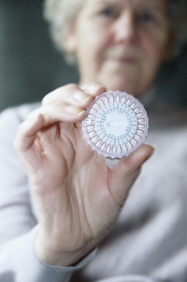 People Person Persons Photograph - Hormone Replacement Therapy Pills by Cristina Pedrazzini