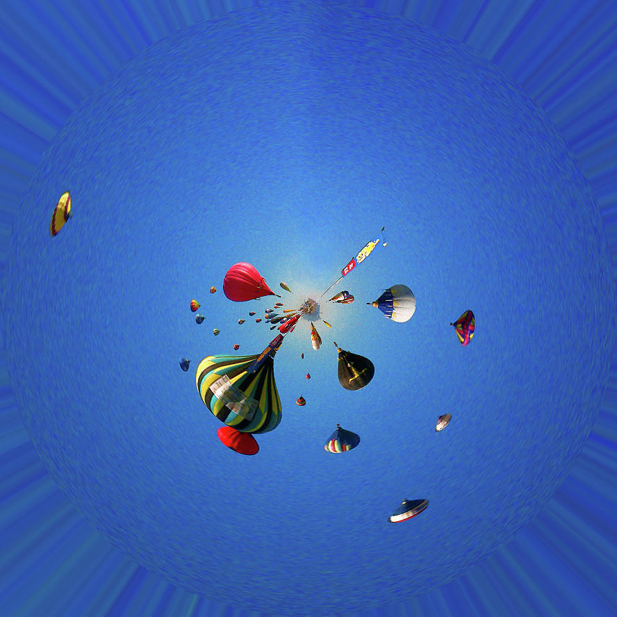 Hot Air Balloons 2 Photograph by Jera Sky