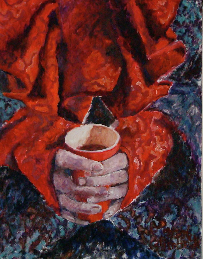 Holland Painting - Hot Chocolate by Elisabeth De Vries