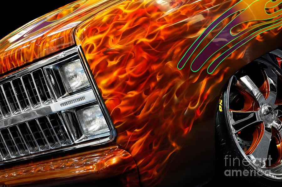Hot Rod Photograph - Hot Rod Chevrolet Scotsdale 1978 by Oleksiy Maksymenko
