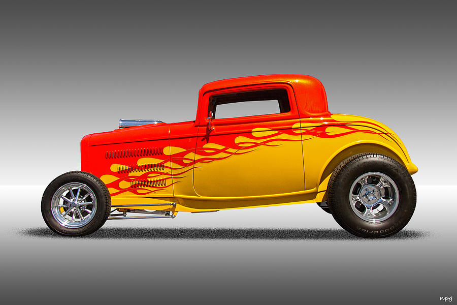 Hot Rod Flames is a photograph by Nick Gray which was uploaded on July ...