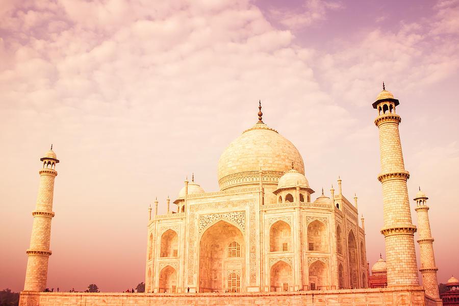 Ancient Photograph - Hot Taj Mahal by Nila Newsom