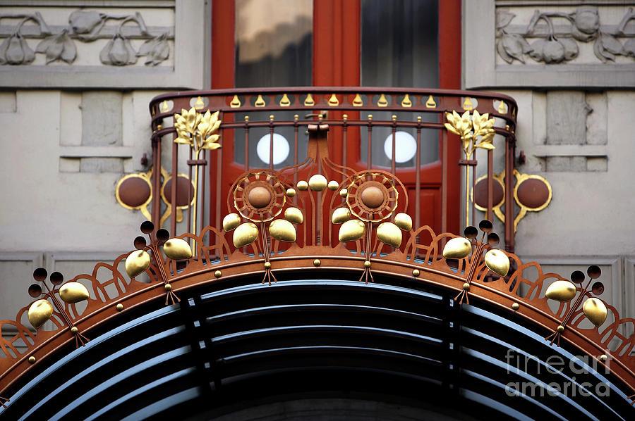 Hotel Balcony Design Photograph - Hotel Balcony Design by John Rizzuto
