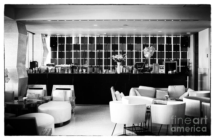 The Joint Photograph - Hotel Bar by John Rizzuto