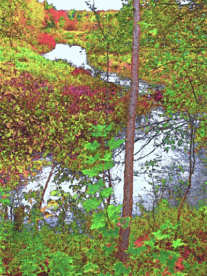 Autumn Photograph - Housatonic River 2 - New England by Steve Ohlsen