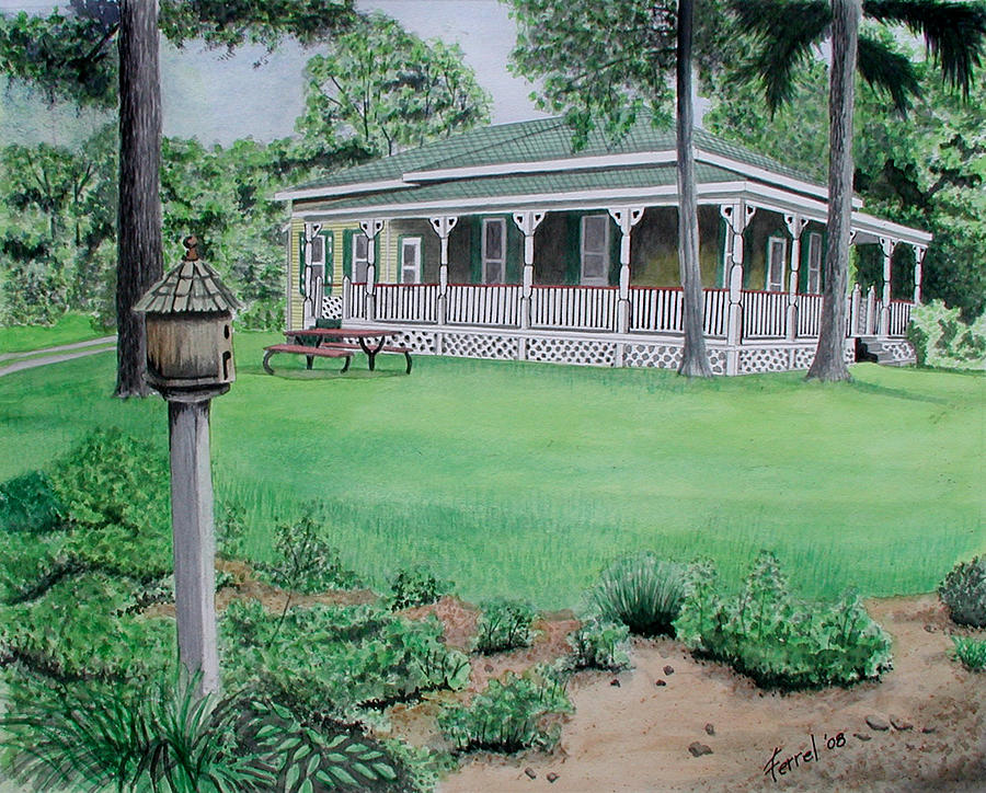 House Painting - House Of David by Ferrel Cordle
