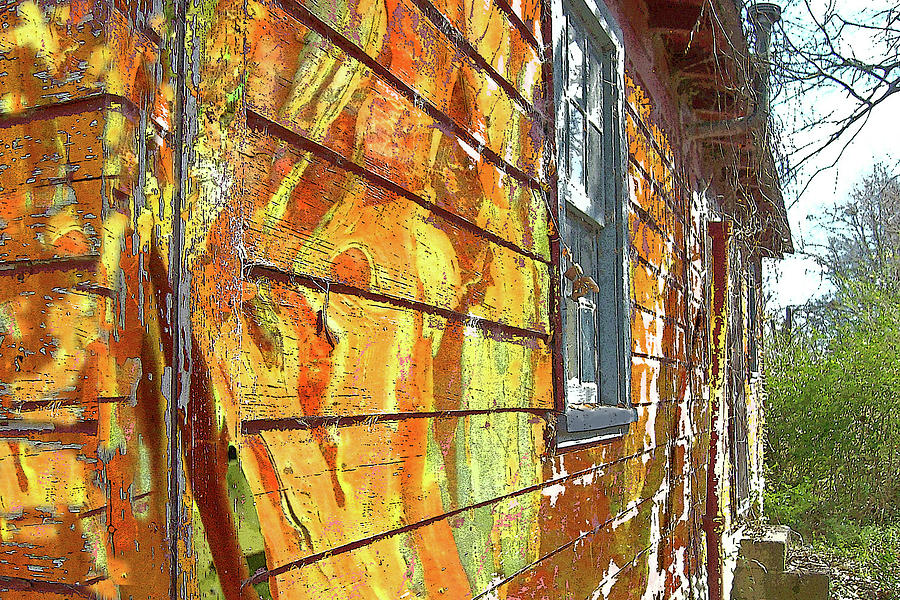 Op Art Photograph - House Of Op Art by Larry Bishop