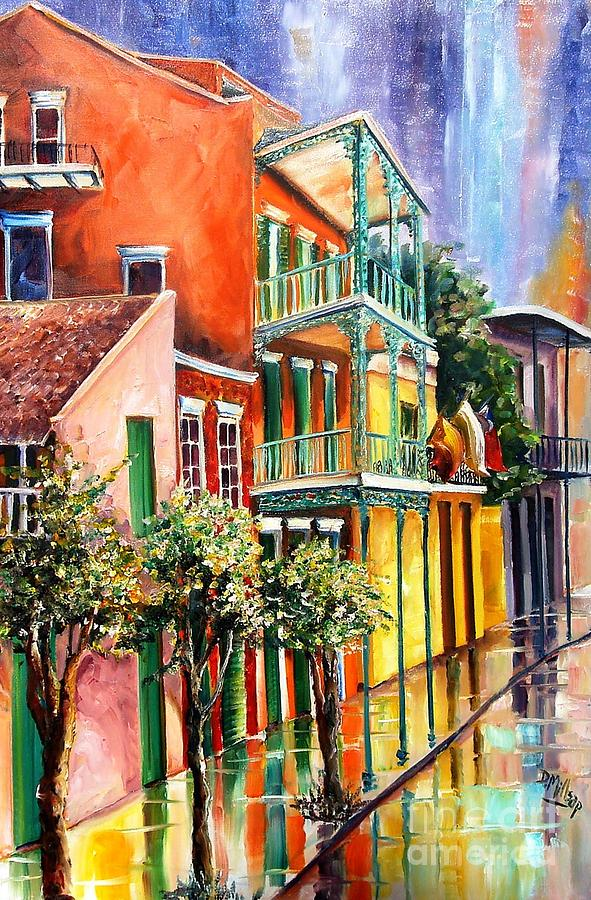 New Orleans Painting - House Of The Rising Sun by Diane Millsap