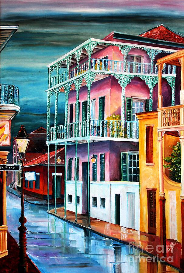 House On Dauphine Street Painting By Diane Millsap