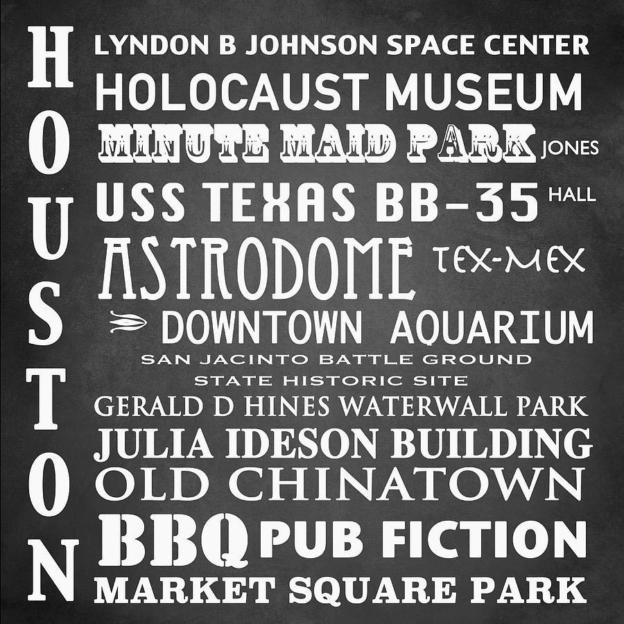 Houston Famous Landmarks Patricia Lintner