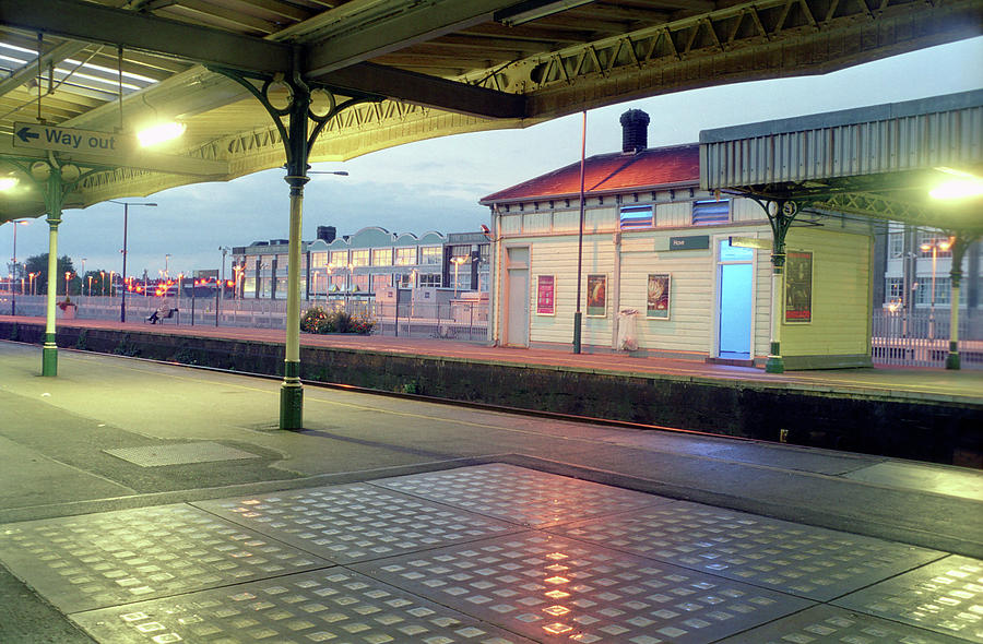 Hove Station Photograph - Hove Station by Nigel Chaloner