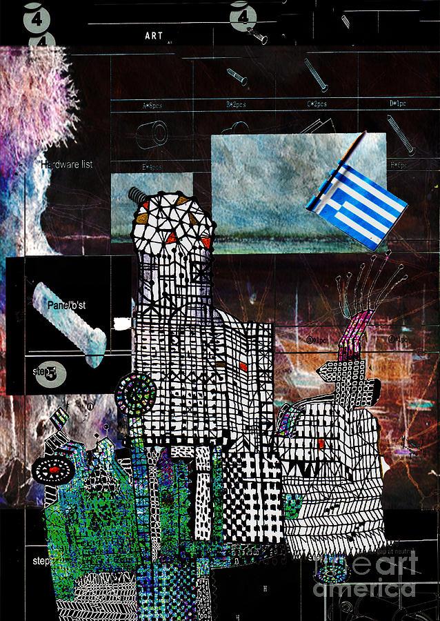 Art Digital Art - How Not To Make Art Part 4  by Andy  Mercer