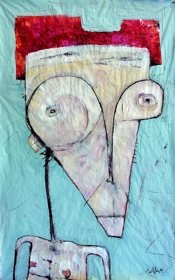Painting Painting - Humanitas No 1  by Mark M  Mellon