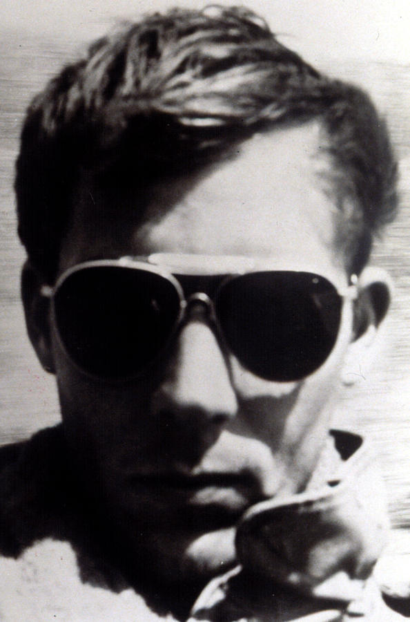 1960s Portraits Photograph - Hunter S. Thompson, 1960s by Everett