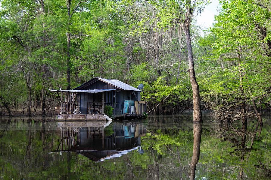 hunting and fishing cabin photograph by deb buchanan