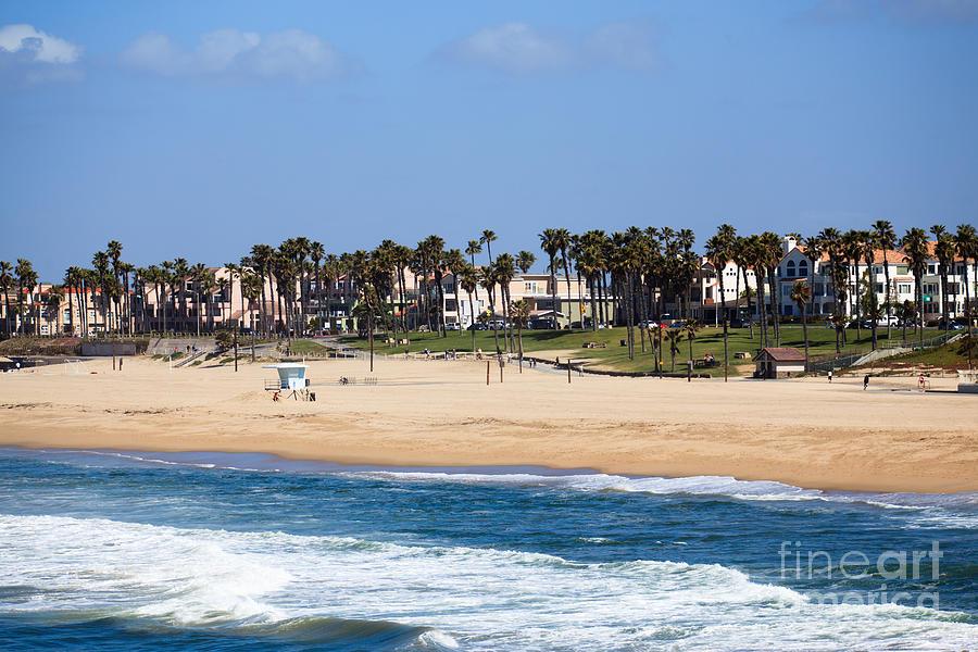 America Photograph - Huntington Beach California by Paul Velgos
