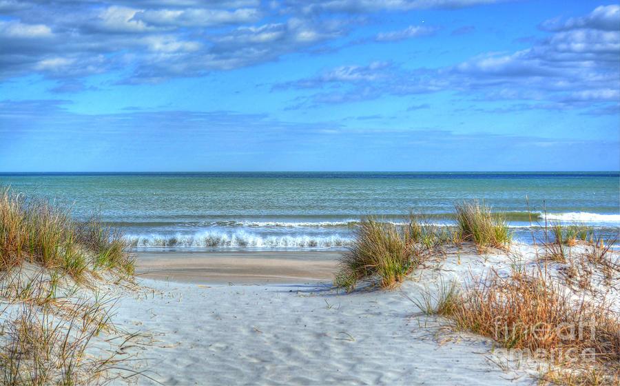 Huntington Beach South Carolina Photograph By Kathy Baccari