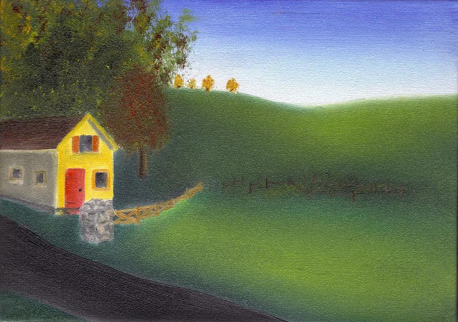 Tim Webster Painting - Hurlock Hills by Tim Webster