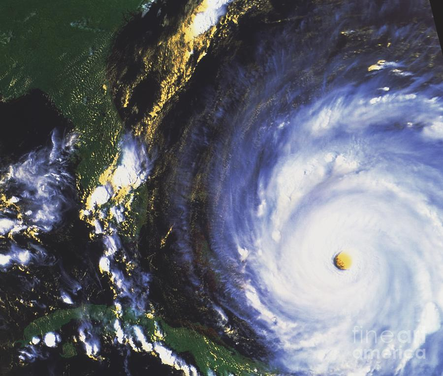 Cloud Photograph - Hurricane Floyd by NASA / Science Source