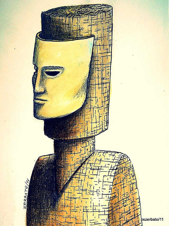 Hypertrophy Of Consciousness Digital Art