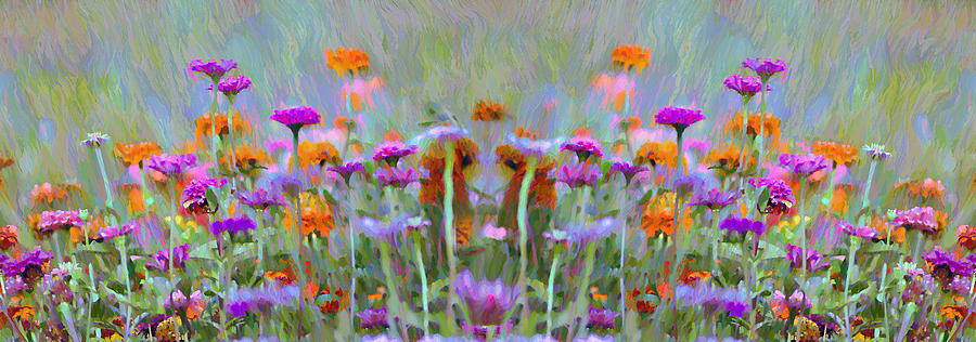 I Got To Get Back To The Garden Photograph - I Got To Get Back To The Garden by Bill Cannon