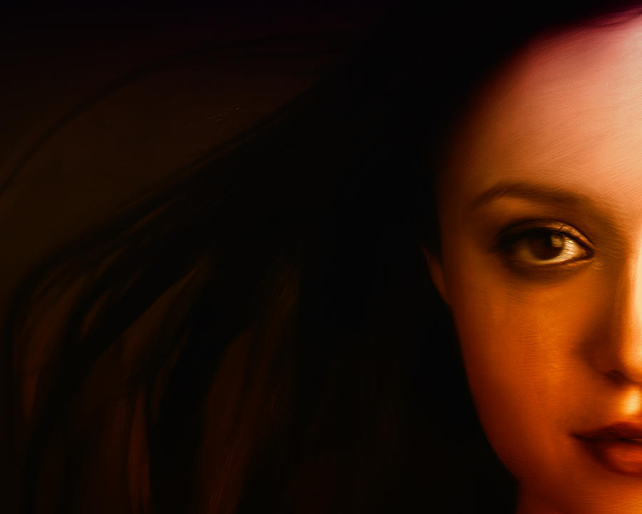 Face Digital Art - I See You by Mark Denham
