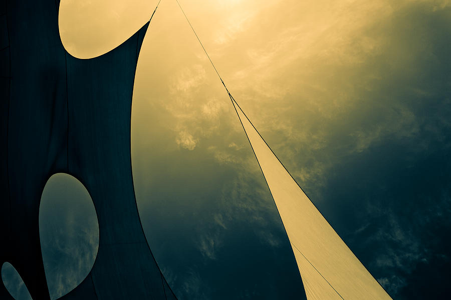 Abstract Photograph - Icarus Journey To The Sun by Bob Orsillo