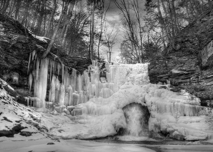 Waterfall Photograph - Ice Castle by Lori Deiter