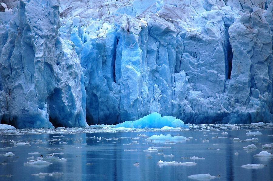 Alaska Photograph - Ice Wall by Helen Carson