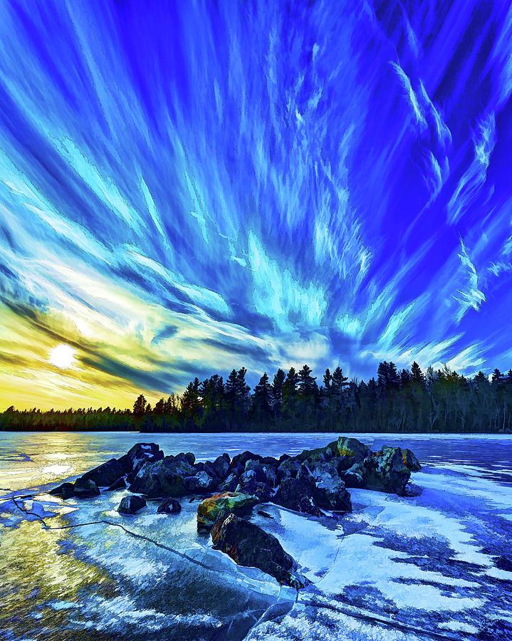 Nature Photograph - Icebound 3 by Bill Caldwell -        ABeautifulSky Photography