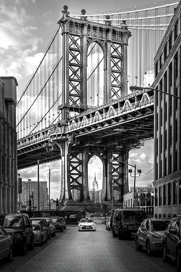 Iconic Manhattan Bw Photograph