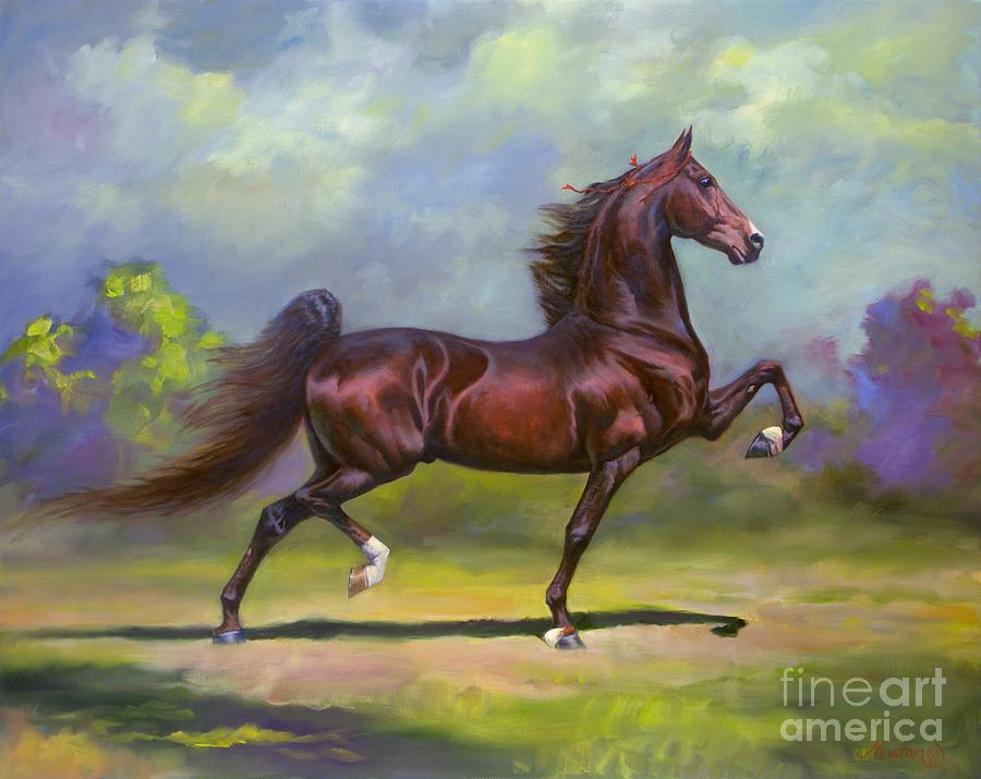 Imperator Painting - Imperator by Jeanne Newton Schoborg