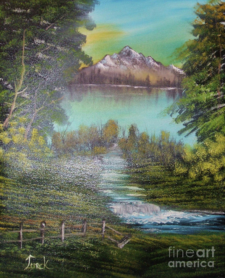 Impressions In Oil Painting - Impressions In Oil - 11 by Bill Turck
