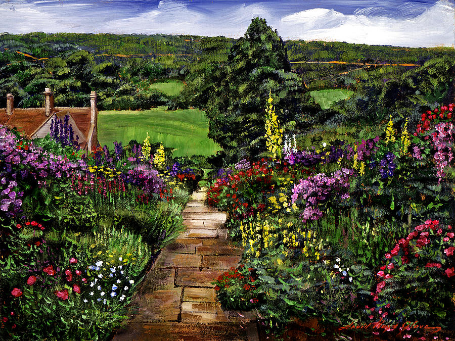 Impressionism Painting - Impressions Of England by David Lloyd Glover