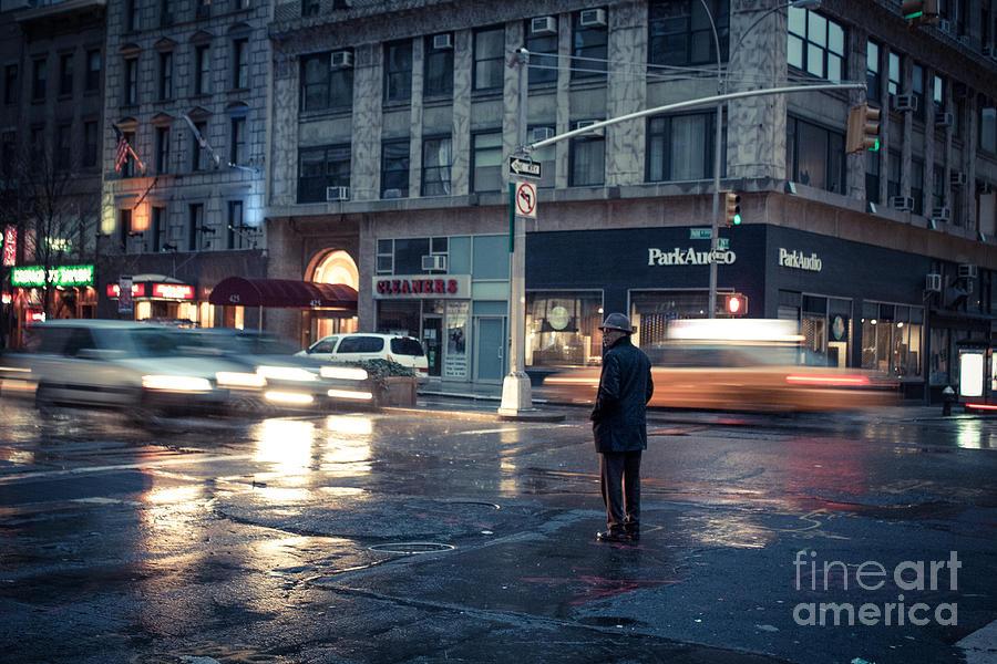 Nyc Yellow Cab Photograph - In A Bubble by John Farnan