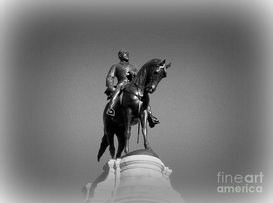 Monuments Photograph - In All His Glory  Re Lee by Nancy Dole McGuigan