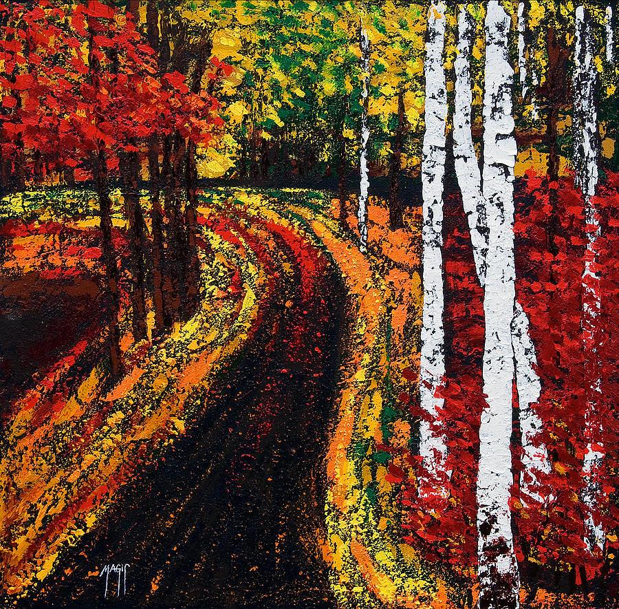 In Full Swing  Painting
