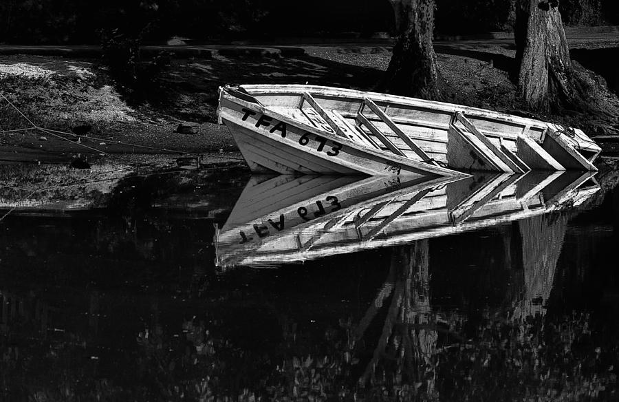 Boat Photograph - In Love With Myself by Sarita Rampersad